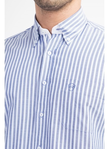 Çizgili Uzun Kollu Gömlek-Kiğılı